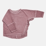 FRILL longsleeve dusty pink | BOOSO