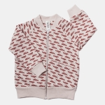ATLETICO bomber beige/red | BOOSO