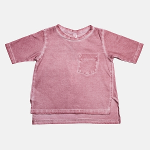 LONGBACK tee light pink | BOOSO
